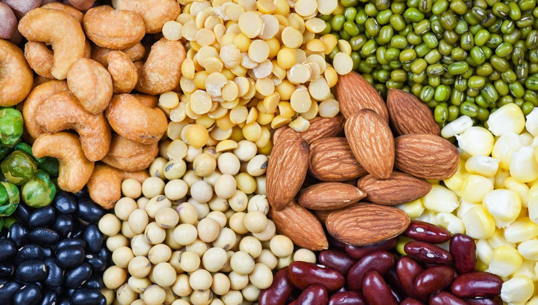 Myo-inozitol sa nachádza v strukovinách, obilí, orechoch a semiačkach